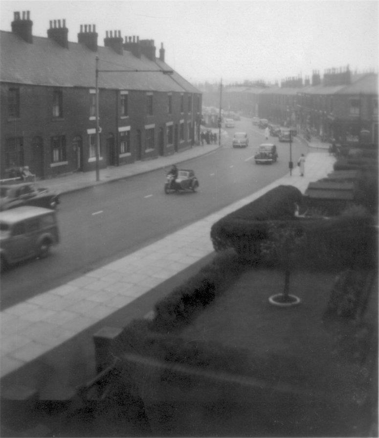 From 237 Halifax Road, about 1955