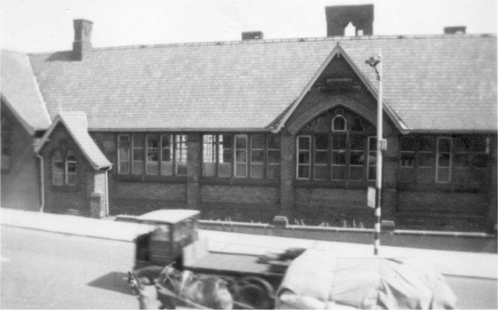 Halifax Road School (from 237 Halifax Road), about 1955