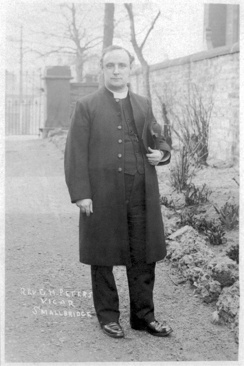 St. John's - Mr Peters - a much loved source of consolation in the years following WWI